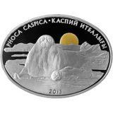 Phoca caspica (Caspian Seal) – 500 Tenge – Kazakhstan – silver coin