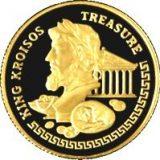 King Kroisos – 100 Tenge – Kazakhstan – gold coin