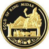 King Midas – 100 Tenge – Kazakhstan – gold coin