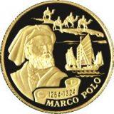 Marco Polo – 100 Tenge – Kazakhstan – gold coin