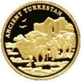Ancient Turkestan – 100 Tenge – Kazakhstan – gold coin