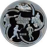 Modern Pentathlon – Olympics 2008 – 100 Tenge – Kazakhstan – silver coin