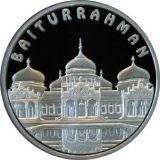 Baiturrahman Mosque – 100 Tenge – Kazakhstan – silver coin