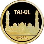 Taj-Ul Mosque – 500 Tenge – Kazakhstan – gold coin