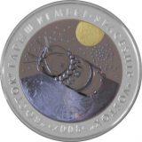 Spaceship Vostok – 500 Tenge – Kazakhstan – silver & tantalum coin