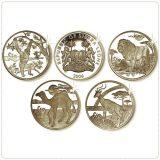 Africa Wildlife – 2006 – Sierra Leone – 4 silver coins set