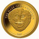 Mask of Agamemnon – Liberia – 2007 – gold coin