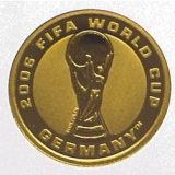 2006 FIFA World Cup in Germany – Australia – 2004 – gold coin