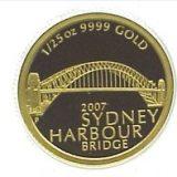 Sydney Harbour Bridge – 2007 – Australia – gold coin