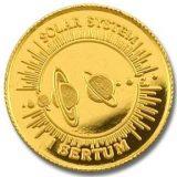 Solar System – 1995 – Kingdom of Bhutan – gold coin