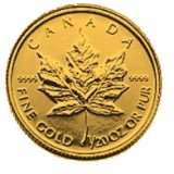Maple Leaf – Canada – 1993 – gold coin