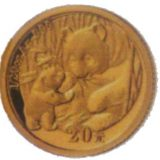 Giant Panda – China – 2005 – gold coin