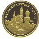 Neuschwesten Castle – 2005 – Congo – gold coin