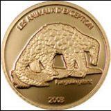 Endangered Wildlife – Pangolin – Congo – 2003 – gold coin