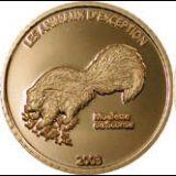 Endangered Wildlife – Skunk – Congo – 2003 – gold coin