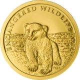 Young Icebear – Cook Islands – 2008 – gold coin