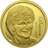 Lady Diana (1961-1997) – Cook Islands – 2007 – commemorative gold coin