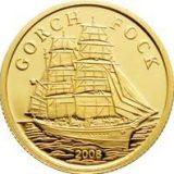 """Ship """"Gorch Fock"""" – Cook Islands – 2008 – gold coin"""