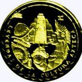Culture of Azteks – Cuba – 2005 – gold coin