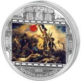 Masterpieces of Art – Liberty Leading the People (Delacroix) – Cook Islands – 2013 – 20 Dollars – 3 oz silver coin