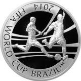 2014 FIFA World Cup Brasil™ – 100 Tenge – Kazakhstan – silver coin