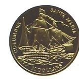 "Columbus's Ship ""Santa Maria"" – 2006 – Fiji Islands – gold coin"