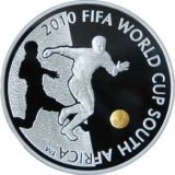 2010 FIFA World Cup South Africa – 100 Tenge – Kazakhstan – silver coin