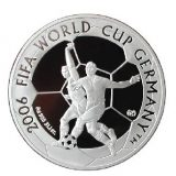 2006 FIFA World Cup Germany – 100 Tenge – Kazakhstan – silver coin