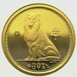 Collie (dog) – Gibraltar – 1995 – gold coin