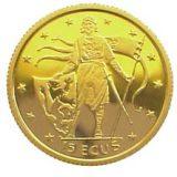 Henry Lion – Gibraltar – 1995 – gold coin