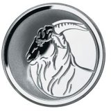 Oriental calendar: Year of Goat – Russia – 2003 – 3 roubels – silver coin