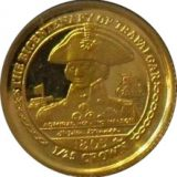 Battle of Trafalgar – Isle of Man – 2005 – gold coin