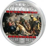Masterpieces of Art – Adoration of Kings (Nicolo Bambini) – Cook Islands – 2013 – 20 Dollars – 3 oz silver coin
