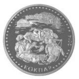Kokpar – 50 Tenge – Kazakhstan – nickel coin in OVP