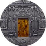 Amber Chamber (Saint Petersburg) – Palau – 2009 – 10 Dollars  – 2 oz silver coin