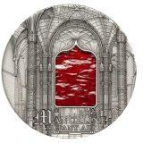 TIFFANY ART: Manueline – Palau – 2011 – 10 Dollars – silver coin with tiffany glass