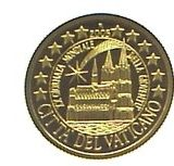 Citadel Vaticano (Petersdom) – Northern Mariana Islands – 2005 – gold coin