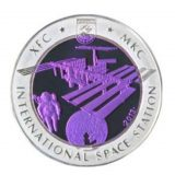ISS – 500 Tenge – Kazakhstan – silver & tantalum coin