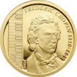 Frederic Chopin – Mongolia – 2008 – commemorative gold coin