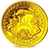 Nibelungen Treasure – Nauru – 2003 – gold coin