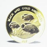 Black and Gold Angelfish – Niue – 2000 – gold coin