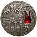 Winter Palace (Saint Petersburg, Russia) – Niue – 2014 – 2 Dollars – 2 oz silver coin with crystal