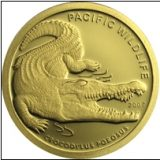 Crocodile – Palau – 2007 – gold coin