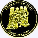 Three Wise Men – Palau – 2007 – gold coin
