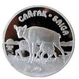 Saiga – 500 Tenge – Kazakhstan – silver coin
