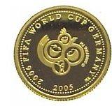 2006 FIFA World Cup in Germany – Samoa – 2005 – gold coin