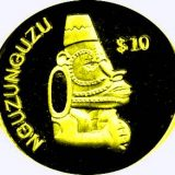 Nguzunguzu Idol – Solomon Islands – 2000 – gold coin