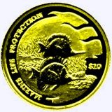 Marine Life Protection (Fishes) – Solomon Islands – 2001 – gold coin