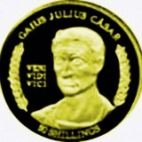 Julius Cesar – Somalia – 2004 – gold coin