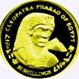 Cleopatra – Somalia – 2004 – gold coin